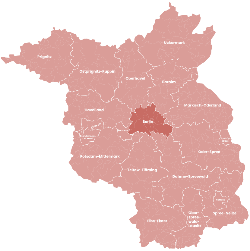 Kaminholz Breuer | Unsere Liefergebiete