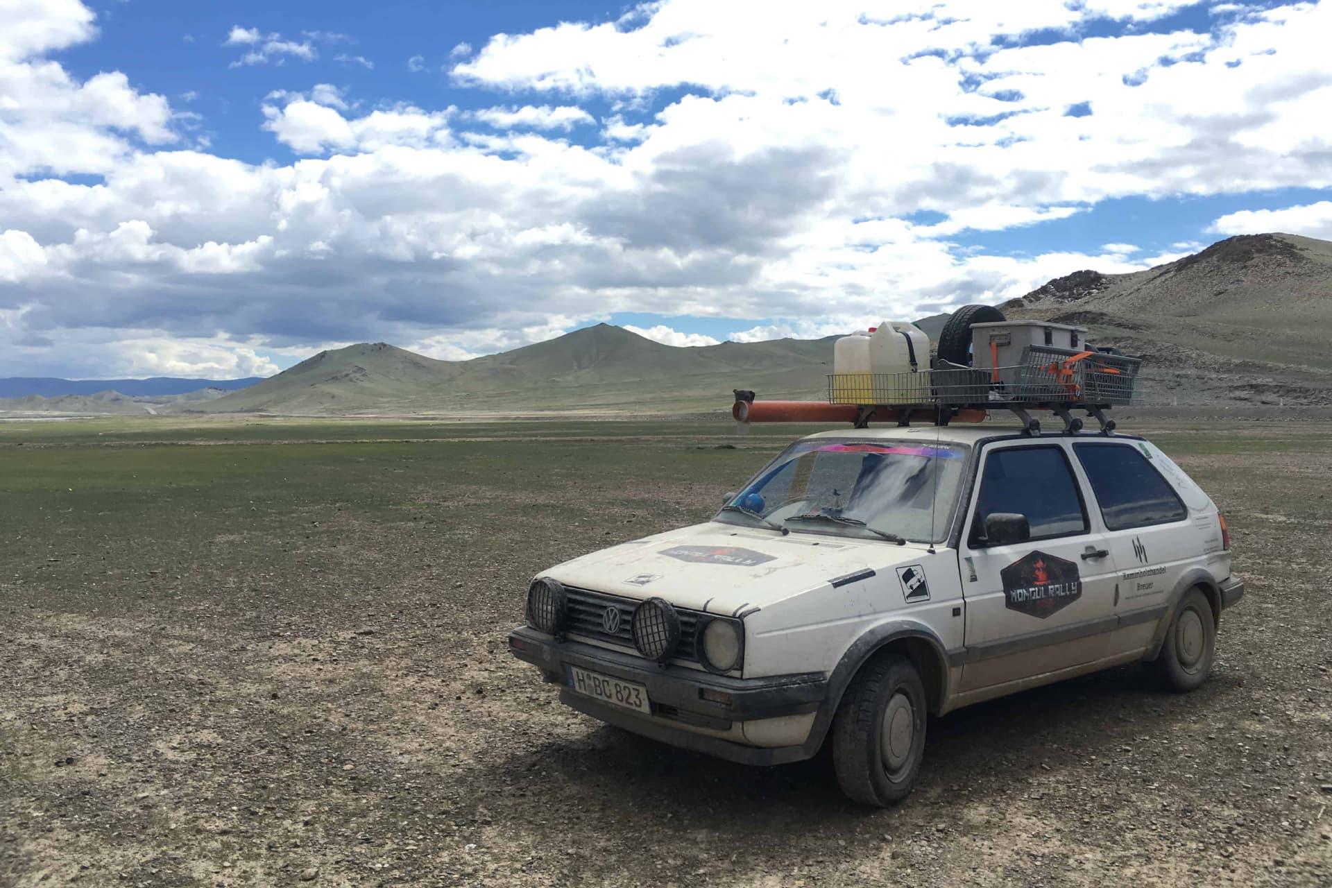 Kaminholz Breuer | Mongol Rally | Sponsoring